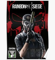 rainbow six siege Caveira Poster