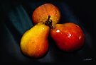 Pears come in Three's by Foxfire
