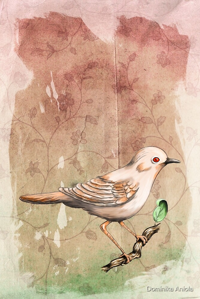 Whitethroat by Dominika Aniola