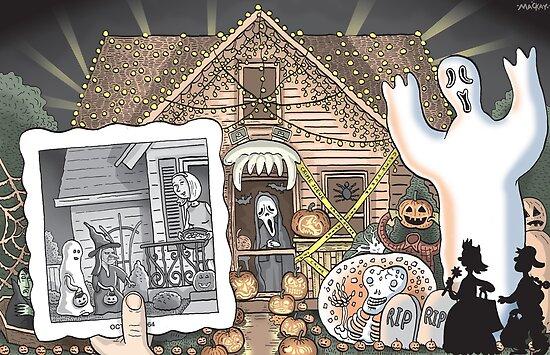 Dear Halloween by MacKaycartoons