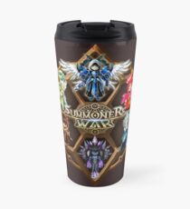 Monster Runes Travel Mug