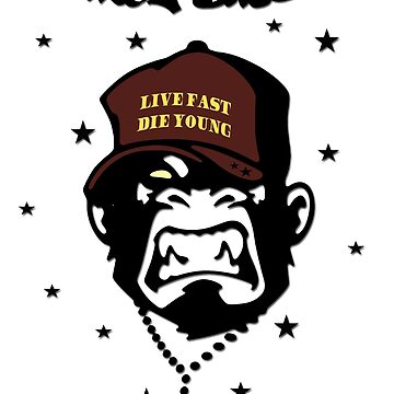 Monkey Businez - Live almost, The young - cartoon design by lemmy666
