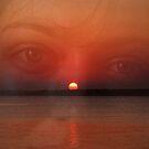 Sunset, in her eyes by Lidiya