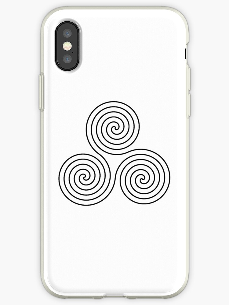 Triple Goddess Symbol Neolithic Triple Spiral Symbol Neo