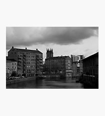 River Aire, Leeds in Yorkhire Photographic Print