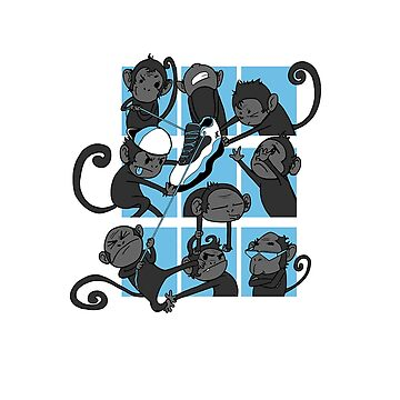 Monkeys by illustratorjr