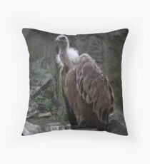 Vulture King, lost in time...  Throw Pillow