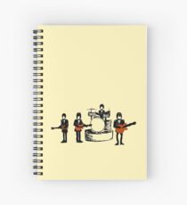 The Scribbles - Live Spiral Notebook