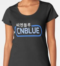 ♥♫Awesome KPop Rock Band CNBlue♪♥ Women's Premium T-Shirt