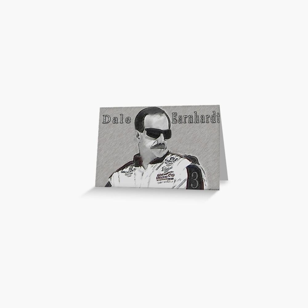 VERWEIGERUNG AN DALE EARNHARDT SR. (INTIMIDATOR) NASCAR Grußkarte