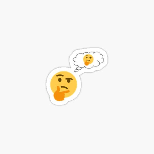 Penser à penser Emoji Sticker