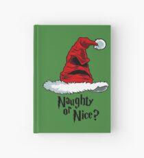 Naughty or Nice? Hardcover Journal