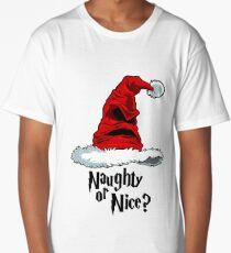 Naughty or Nice? Long T-Shirt