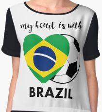 Brazil Soccer Team 2018 | Brazil 2018 Russia Soccer Games | Brazil soccer team Chiffon Top