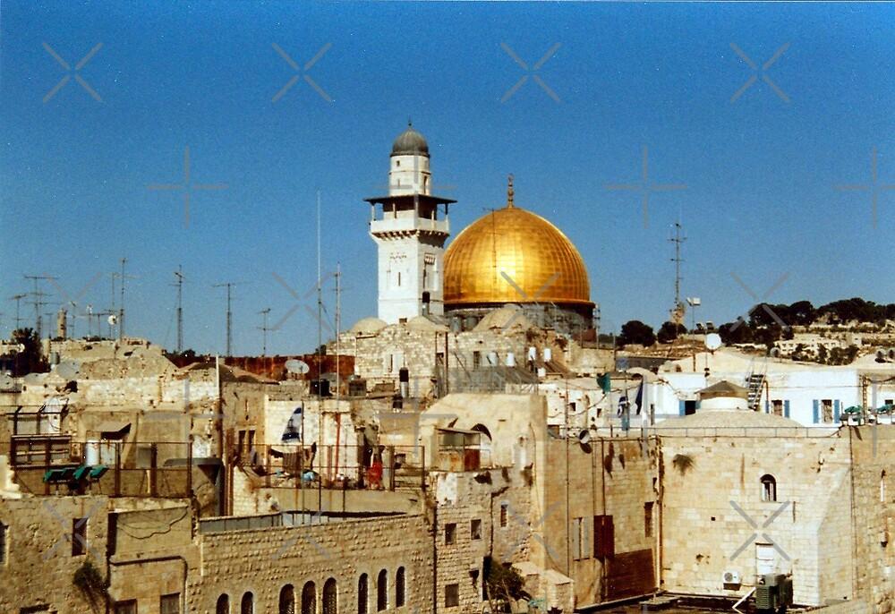 old Jerusalem  by poupoune