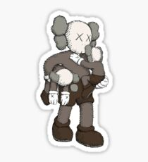 KAWS- Grab the kids and go  Sticker