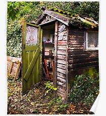 The Old Garden Shed Poster