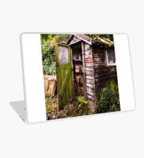 The Old Garden Shed Laptop Skin