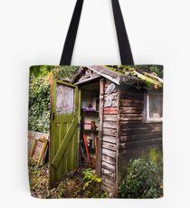 The Old Garden Shed Tote Bag