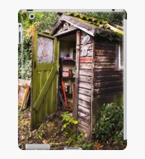 The Old Garden Shed iPad Case/Skin