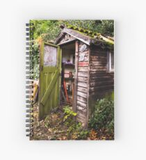The Old Garden Shed Spiral Notebook