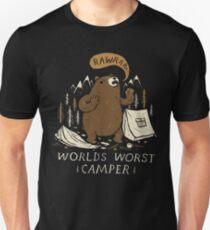 worlds worst camper Unisex T-Shirt