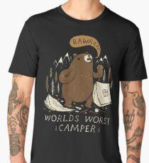 worlds worst camper Men's Premium T-Shirt