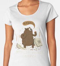 worlds worst camper Women's Premium T-Shirt