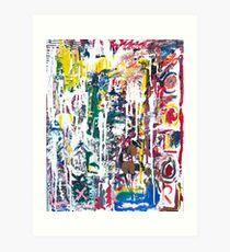Jackson Pollock Impression artistique