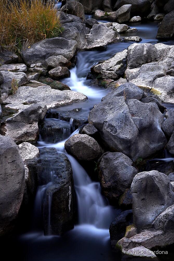 Waterfall in Soft Light by Nick  Cardona