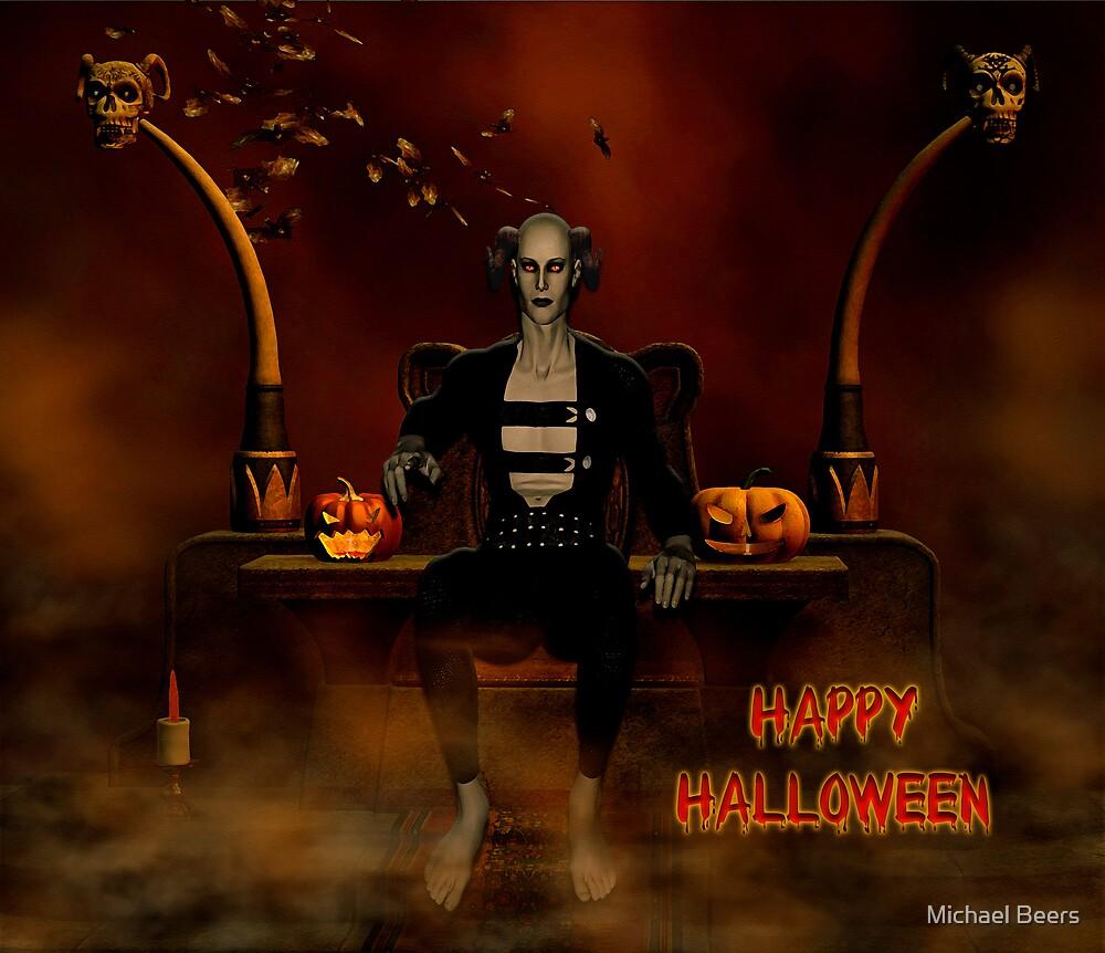 HALLOWEEN CARD 1 by Michael Beers