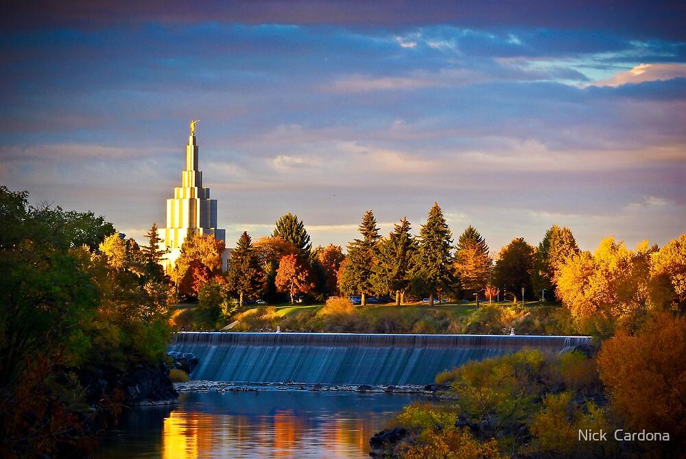Idaho Falls Autumn by Nick  Cardona