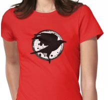 The Raven and the Moon Womens Fitted T-Shirt