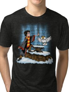 Wand and the Wizard Tri-blend T-Shirt
