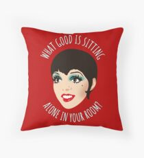 Fräulein Sally Bowless Throw Pillow