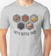 LET'S SETTLE THIS Settlers of Catan Unisex T-Shirt