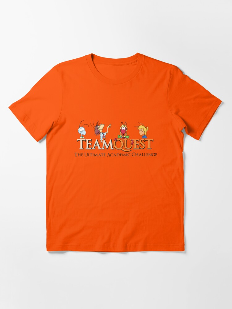 Alternate view of Team Quest T-Shirt - Orange Essential T-Shirt
