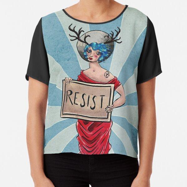 Resist! Chiffon Top