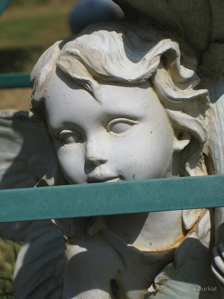 Stegall Drive yard statuary by Laurkat