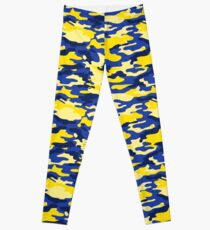 Mich Army Print Leggings