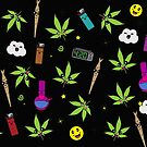 Super awesome Cute Stoner weed stuff by kushcoast