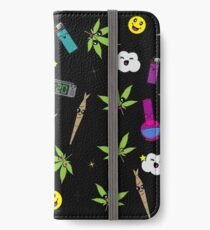 Super awesome Cute Stoner weed stuff iPhone Wallet/Case/Skin