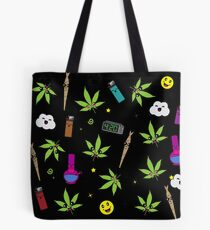 Super awesome Cute Stoner weed stuff Tote Bag