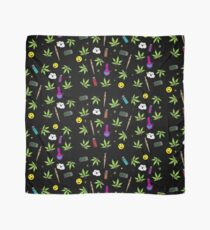 Super awesome Cute Stoner weed stuff Scarf