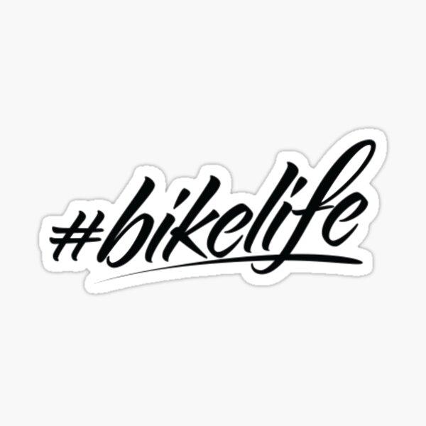 Hashtag Bike Life - Obtenez un vélo et allez sur un T-shirt d'aventure Sticker
