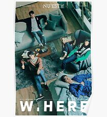 nuest - w.here Poster