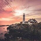 Cape Elizabeth Lighthouse by Legend  Photography