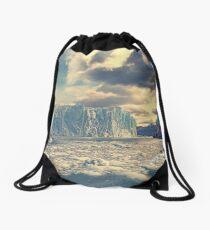 Perito Moreno glacier Drawstring Bag