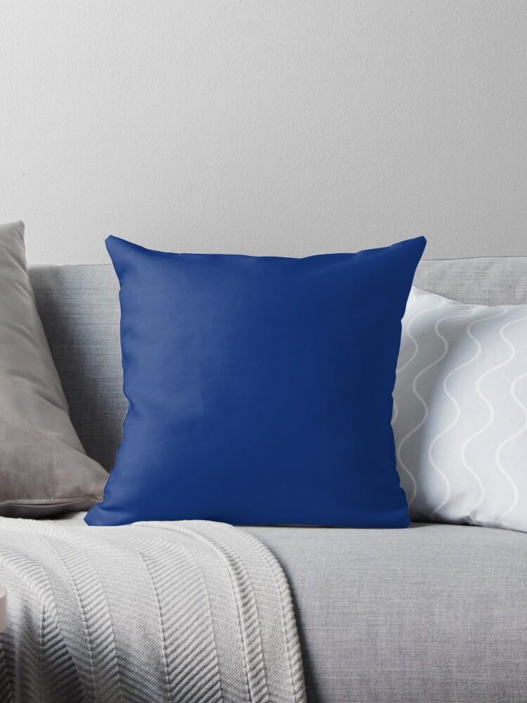 Beautiful Cushions/ Plain Catalina blue by ozcushions