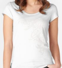 Figurative I Women's Fitted Scoop T-Shirt